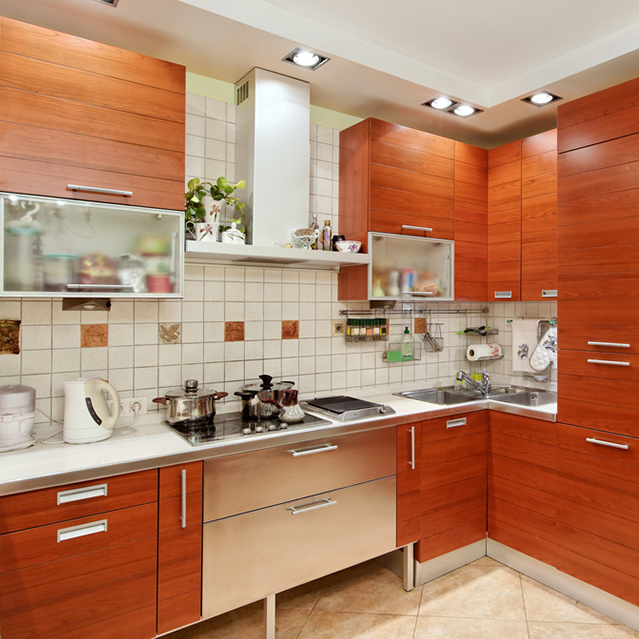 cabinets in house